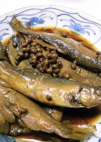 鮎の山椒煮