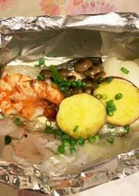 鮭のホイル焼き オーブン調理