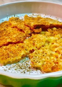 チーズせんべいをパリッとサクッと焼くコツ