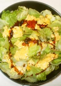 卵レタス炒め♪簡単オイスターソースで