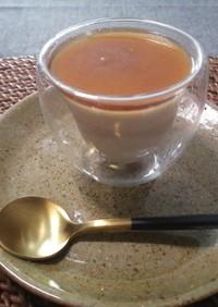 冷凍生クリームで時短ほうじ茶パンナコッタ