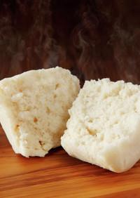 レンジで作る蒸しケーキ 卵乳小麦米粉無