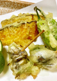 卵乳小麦米粉なし、ソルガムの天ぷら