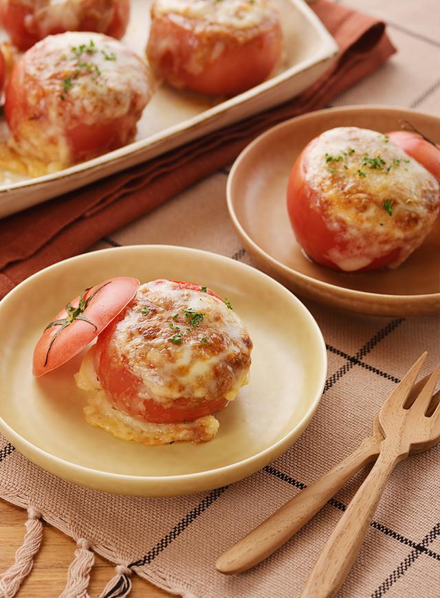 トマトカップで北海道♪ミートグラタン