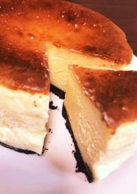 4号型で!レーズン入チーズケーキ