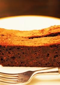 絹ごし豆腐で濃厚チョコレートケーキ♡