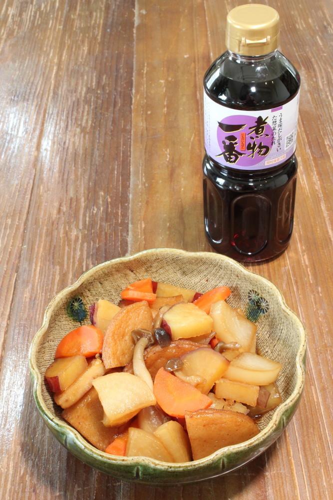 秋の煮物(根菜と平天の煮しめ)