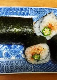 健康的で簡単な巻き寿司