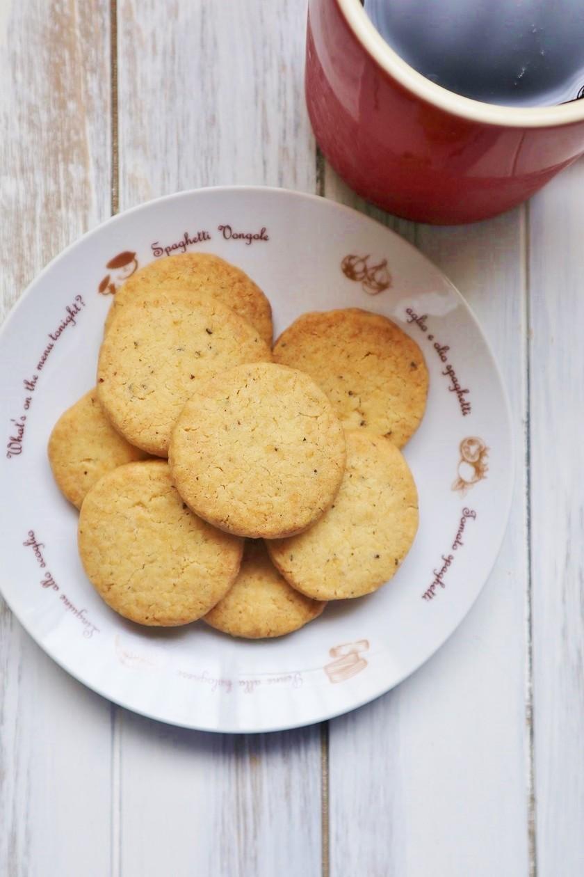 甘じょっぱくてクセになる♪チーズクッキー