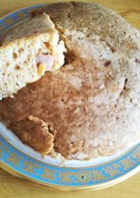 カレー風味の炊飯器おかずパン 発酵無し!