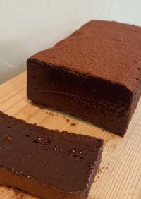 濃厚チョコテリーヌ(ガーナレシピ)