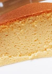 さっぱり&濃厚♪簡単スフレチーズケーキ☆
