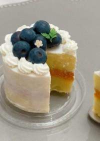 簡単!犬用ケーキ【オーブン&泡立て不要】