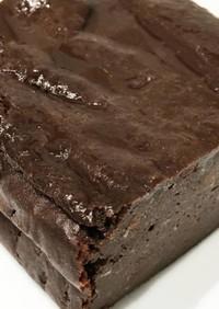 濃厚ほうじ茶チョコ味の豆腐ケーキ