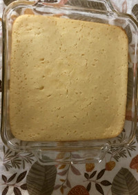 レモンリコッタデザートケーキ