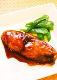☺簡単魚料理♪ぶりのメープル照り焼き☺
