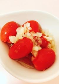 プチトマトと玉ねぎのマリネ
