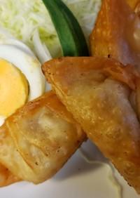 大豆とニラのヘルシー餃子