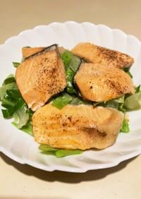 鮭とキャベツの蒸し焼き