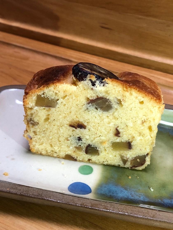 栗渋皮煮のパウンドケーキ