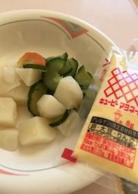 斬新なポテトサラダ☆病院食☆