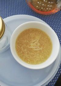 えのき玉葱の冷製とろろスープ〜離乳食にも
