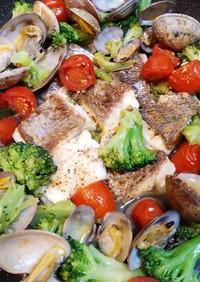 魚料理に困ったら③白身魚のアクアパッツァ