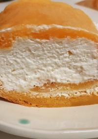 だんごの粉でロールケーキ