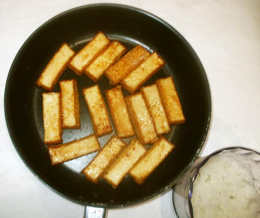 厚揚げステーキ♪簡単お弁当に大根おろし