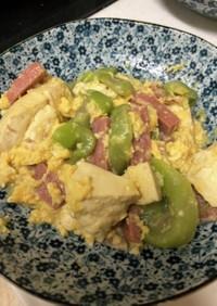 沖縄料理 へちまの味噌炒め煮