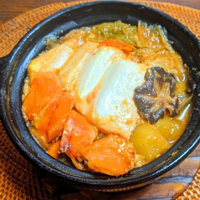 鮭が美味しい石狩鍋