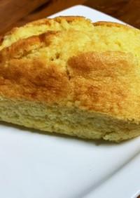 トースターで作るラム酒入りパウンドケーキ