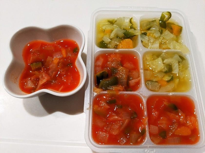 離乳食完了期 トマト&コンソメスープ