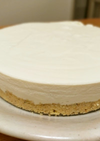 時短簡単カロリーオフ!レアチーズケーキ