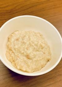 きな粉オートミール (離乳食中期頃から)