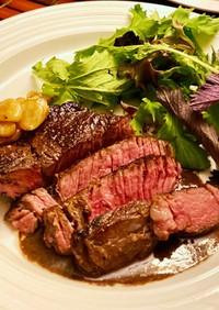 オーブンで簡単♡柔らかステーキ