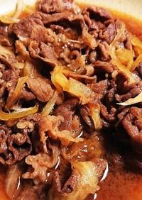 牛肉と玉ねぎ☆しぐれ煮