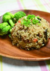 豚肉と野菜の炊き込み御飯