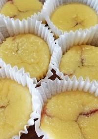 プチラズベリーチーズケーキ