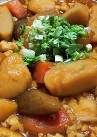 里芋のそぼろ煮◎お手軽食材で簡単