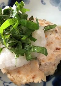 時短!簡単!鶏挽肉の和風豆腐ハンバーグ