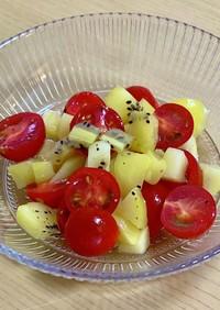 プチトマトとキウイのサラダ♡