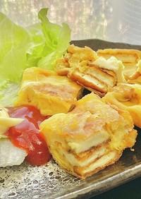 厚揚げ!タマゴandチーズ タロの弁当