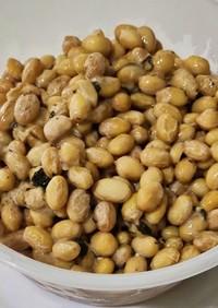 手作りハーブ納豆
