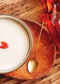 もち麦でタピオカ風ココナッツミルク