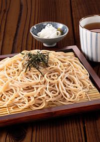 ソルガムきび麺のざる蕎麦風 麺つゆ3種