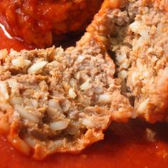 トマトの肉団子「ハンガリー料理」