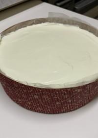 レアチーズケーキ(手間をかけて美味しく)