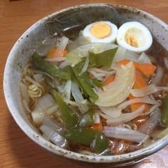 サッポロ一番!王道野菜とゆで卵
