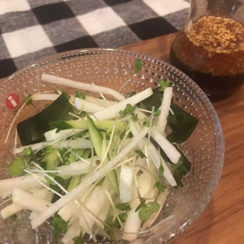 大根のさっぱり和風サラダ
